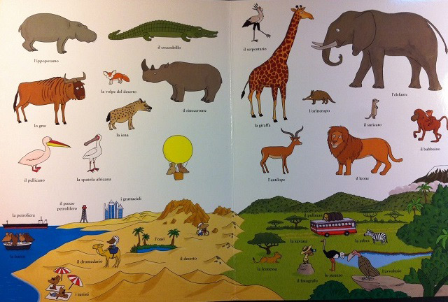 Letture sugli animali per bambini for Disegni di animali per bambini